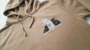 """INTERN WORLD"" HOODED SWEATSHIRT"