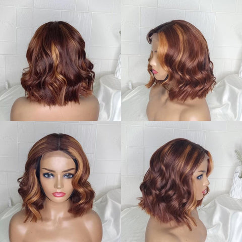 Bodywave Closure Highlight Bob