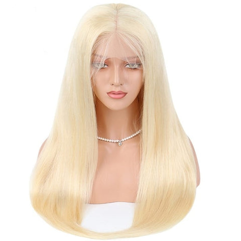 Blonde Lace Front Preplucked Wig