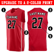Load image into Gallery viewer, Custom Basketball Jersey - Adult and Youth Sizes (10 Colors)