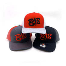 Load image into Gallery viewer, Retro RAD Embroidered Richardson Trucker Cap Hats (6 Colors)