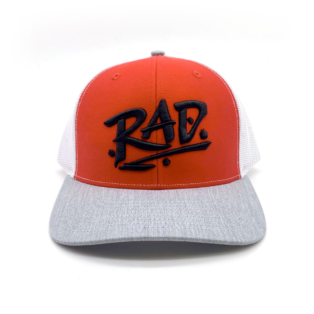 Retro RAD Embroidered Richardson Trucker Cap Hats (6 Colors)