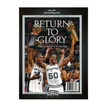 Return to Glory Book - 2003 San Antonio Spurs