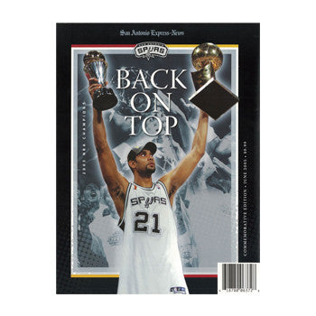 Back on Top Book- 2005 San Antonio Spurs