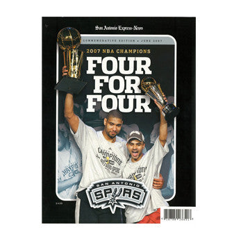 Four for Four Book - 2007 San Antonio Spurs