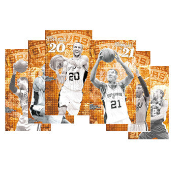 Full Collection of 2014 Western Conference Finals Poster