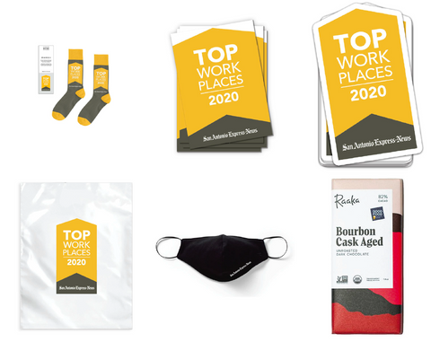 50 Top Workplace Executive Swag Package