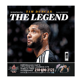 Tim Duncan (The Legend) Commemorative Magazine