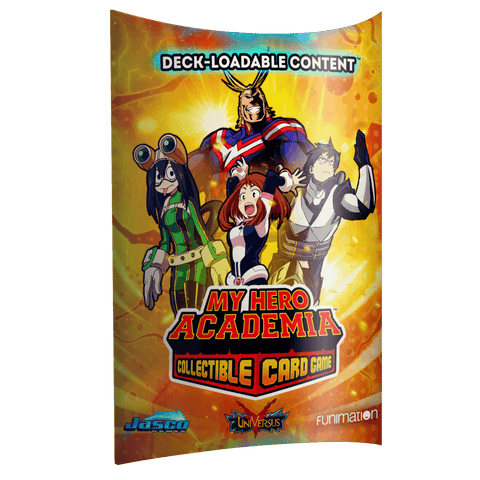 MY HERO ACADEMIA  COLLECTIBLE CARD GAME  DLC DISPLAY (PREORDER)