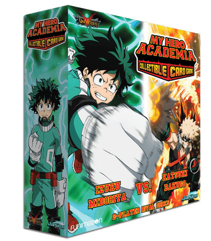 MY HERO ACADEMIA  COLLECTIBLE CARD GAME  2-PLAYER RIVAL DECK (PREORDER)