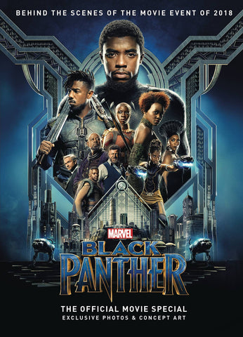 BLACK PANTHER OFFICIAL MOVIE SPECIAL HARDCOVER