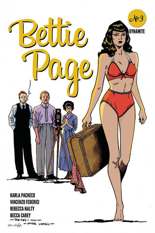 BETTIE PAGE #3 1:7PEEPLES HOMAGE VARIANT