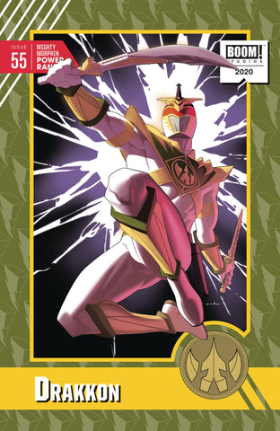 MIGHTY MORPHIN POWER RANGERS #55 1:10 ANKA VARIANT