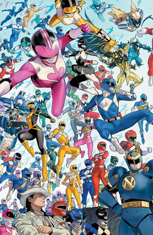 POWER RANGERS #1 1:10 MORA VARIANT
