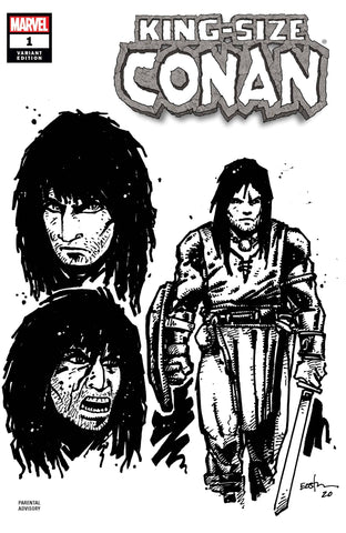 KING-SIZE CONAN #1 1:10 EASTMAN DESIGN VAR
