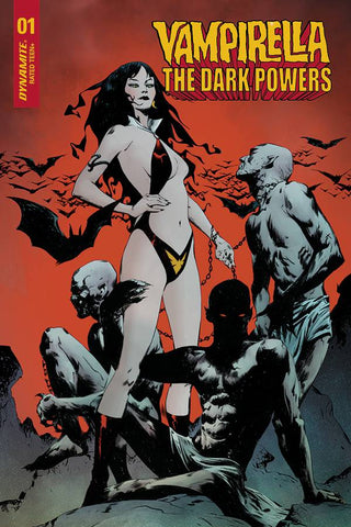 VAMPIRELLA DARK POWERS #1 1:20 LEE VARIANT