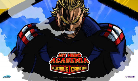 MY HERO ACADEMIA  COLLECTIBLE CARD GAME  PLAYMATS (PREORDER)