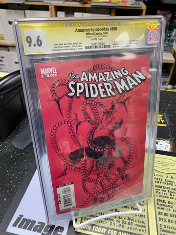AMAZING SPIDER-MAN #600 - CGC 9.6 - STAN LEE SIGNATURE SERIES