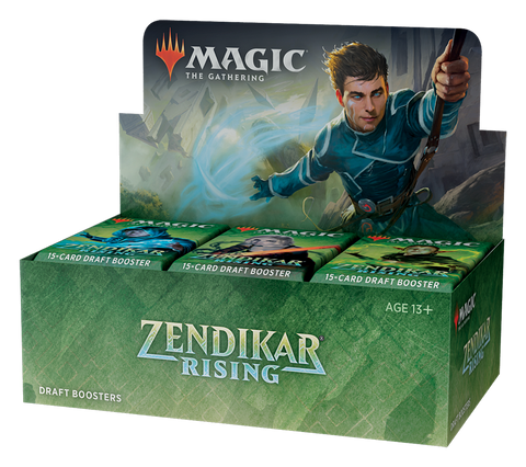 MTG TCG ZENDIKAR RISING DRAFT BOOSTER DISPLAY (36CT)