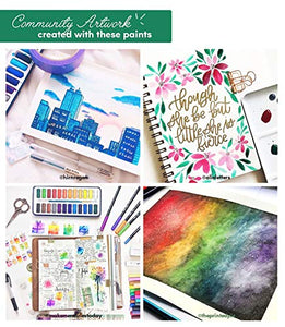 Watercolor Paint Essential Set