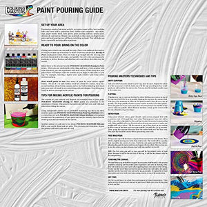 Pouring Masters 8 Color Ready to Pour Acrylic Pouring Paint Set