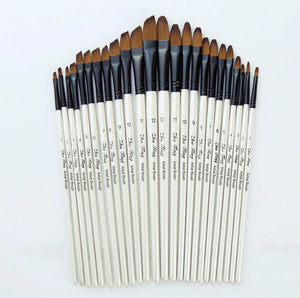 Nylon Watercolor Painting Brushes