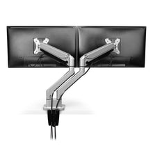 Load image into Gallery viewer, Articulating Dual Monitor Arm - bluespaceinteriors office furniture los angeles