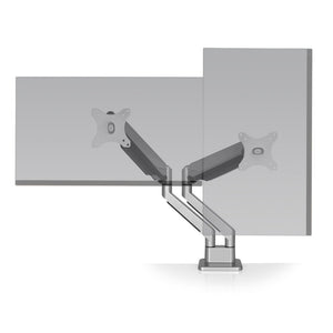 Articulating Dual Monitor Arm - bluespaceinteriors office furniture los angeles