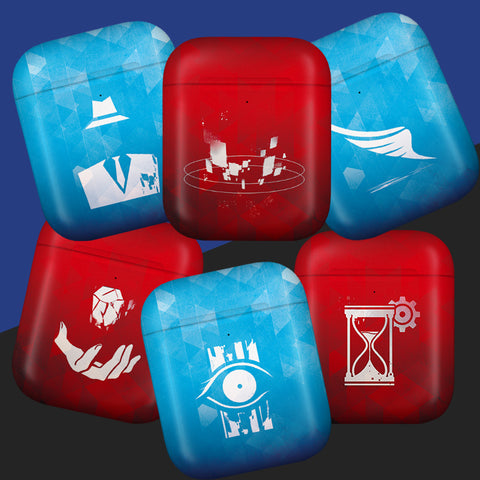 [DICE] Apple Airpods Case_Levitation,Teleportation,Time Pause,Clairvoyant,Psychokinesis,Cloaking