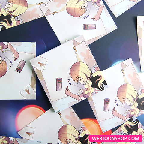[End and Save] Memo Pad_korea webtoon shop,shop webtoon,webtoon Shop,shopwebtoon,webtoon goods,webtoon merch