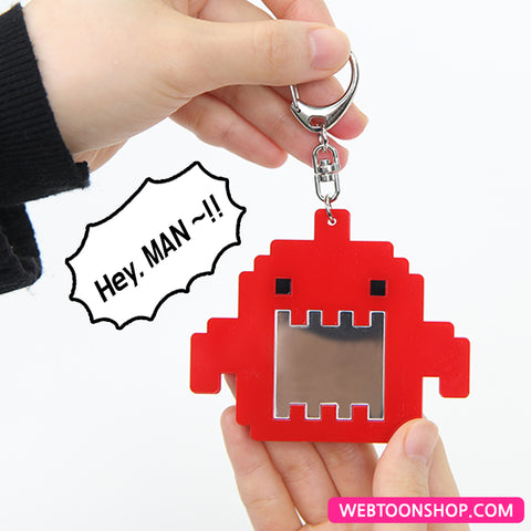 [Guardians of the Video Game] Demon Mirror Acrylic Keyring