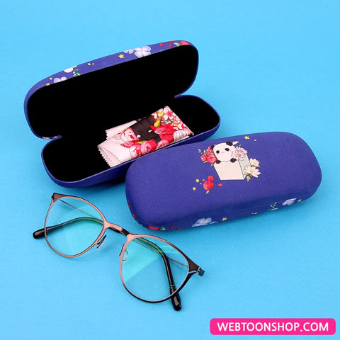 [I Don't Want This Kind of Hero] Glasses Case & Microfiber Glasses Cloth Set_korea webtoon shop,shop webtoon,webtoon shop,webtoonshop,shopwebtoon,webtoon goods