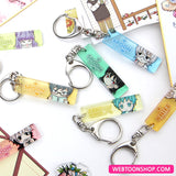 [I Don't Want This Kind of Hero] Rectangle Acrylic Keyring