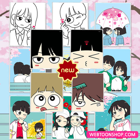 [Love Revolution] Stand Mirror_korea webtoon shop,shop webtoon,webtoon Shop,shopwebtoon,webtoon goods,webtoon merch