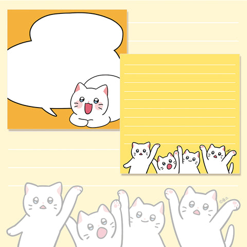 [MEOW MAN] Memo Pad 2-in-1 (Set)