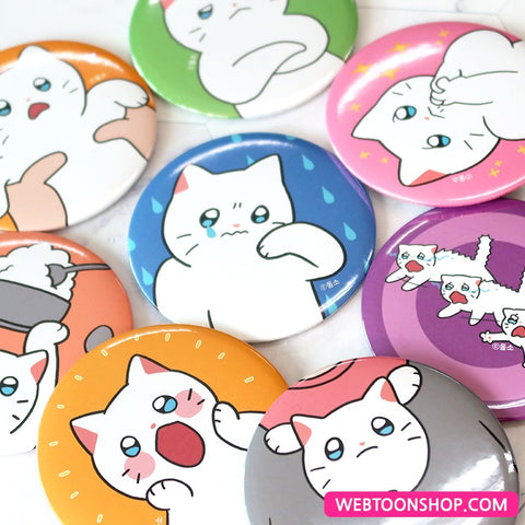 [Meow Man] Pocket Mirror 75mm