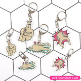 [Mojo's Record] Acrylic Keyring 2-in-1 (Set)