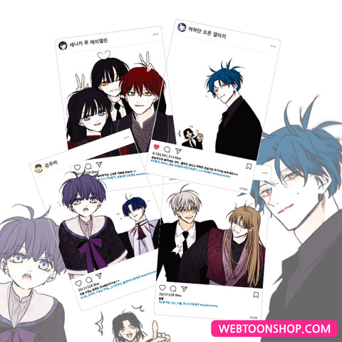 [Trump] Acrylic Photo Frame_webtoon korea webtoon shop,shop webtoon, webtoon goods