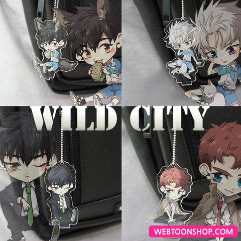 [WILD CITY] Acrylic Stand & Keyring_korea webtoon shop,shop webtoon,webtoon Shop,shopwebtoon,webtoon goods,webtoon merch