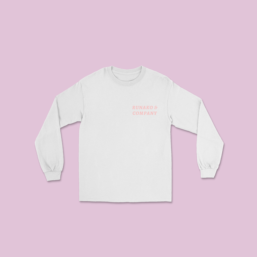 The Cozy Tee - White