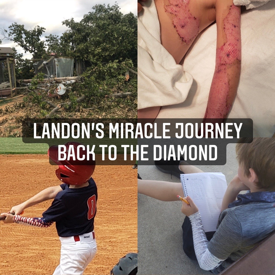 Landon's Miracle Journey Back to the Diamond
