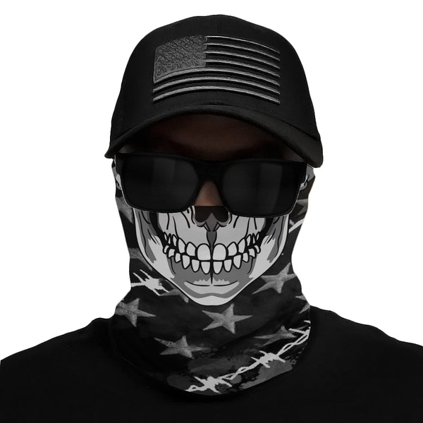 Tactical Skeleton Multi-Use Face Bandana