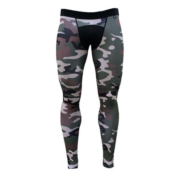 Army Camo Compression Tights