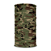 Army Camo Multi-Use Face Bandana