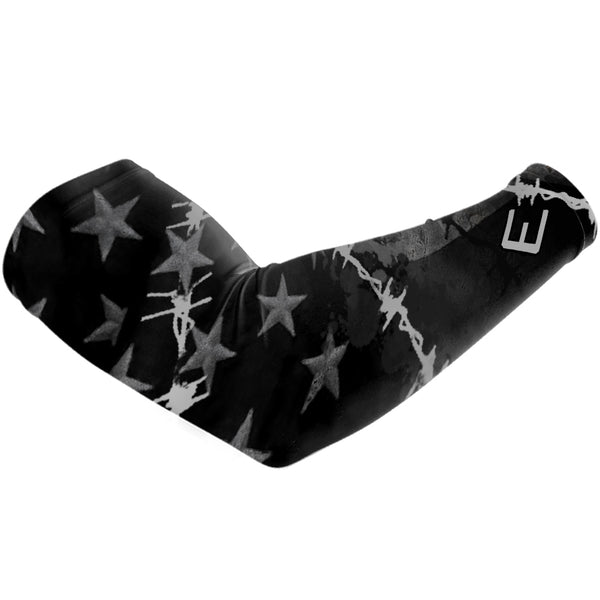 Barbed Wire USA Flag Arm Sleeve