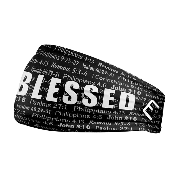 Black BLESSED Headband