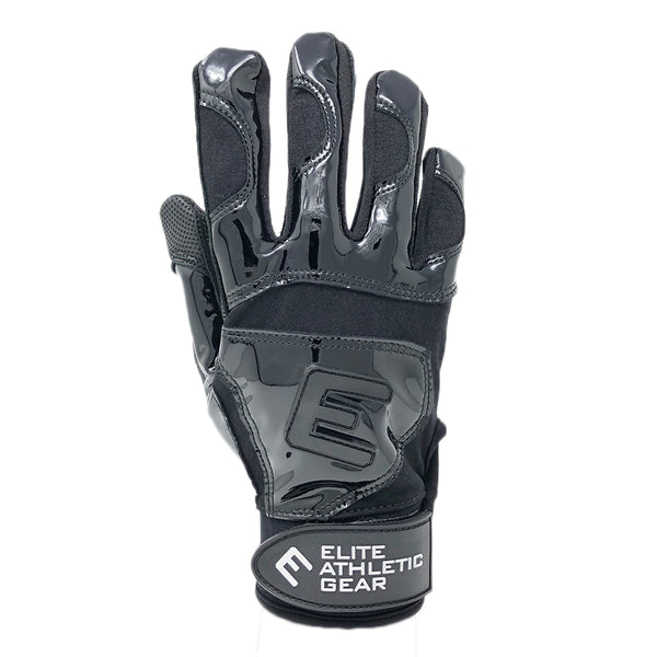 Black Elite Batting Gloves