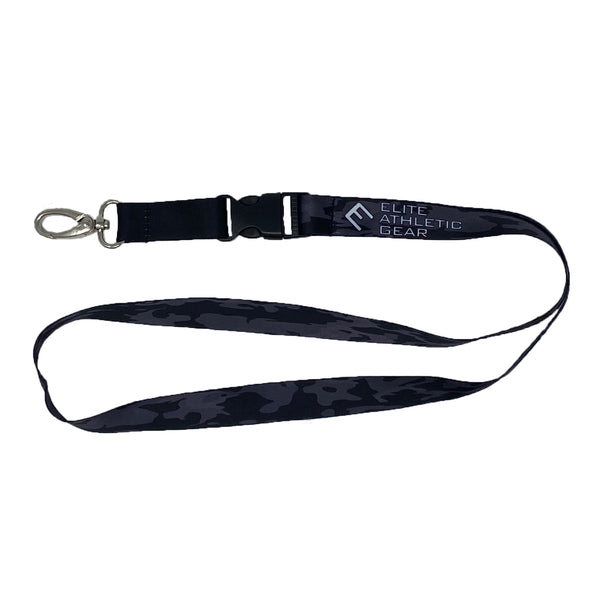 Blackout Camo Lanyard