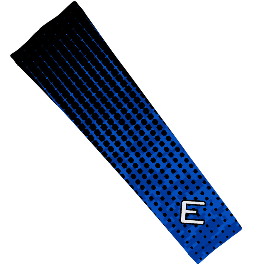 Blue Hextone Arm Sleeve