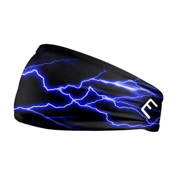 Blue Lightning Headband